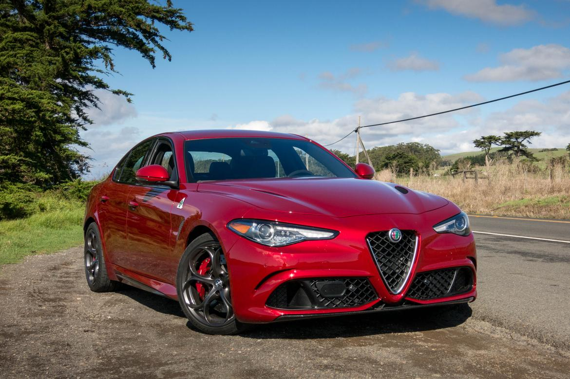 2017 alfa romeo giulia review first drive news. Black Bedroom Furniture Sets. Home Design Ideas