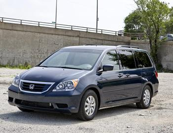 2009 honda odyssey our review. Black Bedroom Furniture Sets. Home Design Ideas
