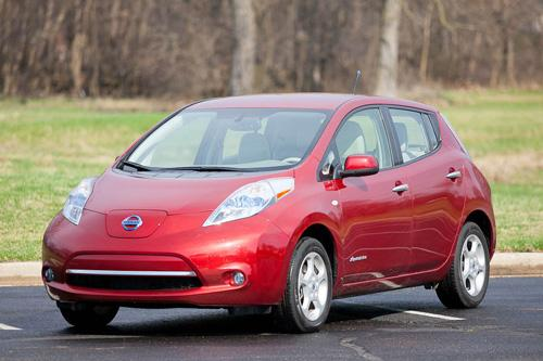 2017 Nissan Leaf Car Seat Check