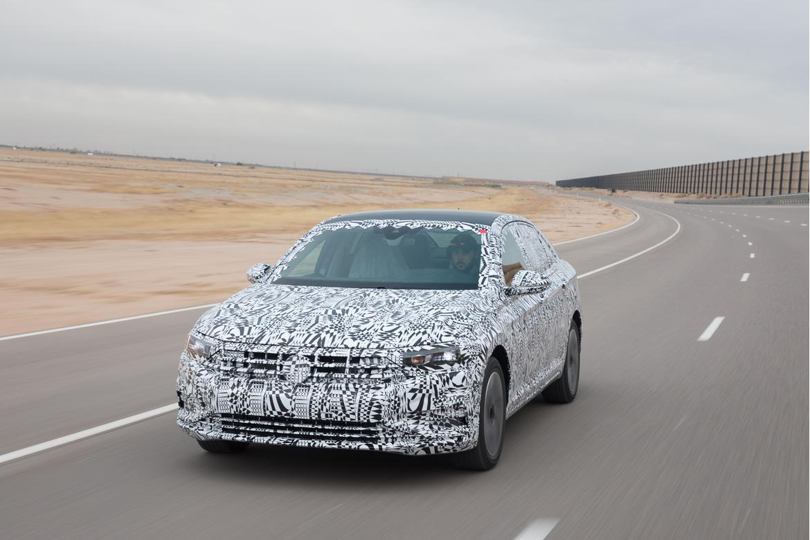 10-volkswagen-jetta-prototype-2019-angle, dynamic, exterior, fro