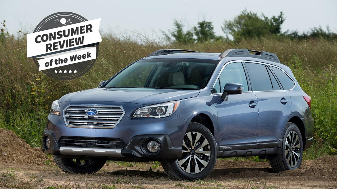 consumer review of the week 2017 subaru outback news. Black Bedroom Furniture Sets. Home Design Ideas