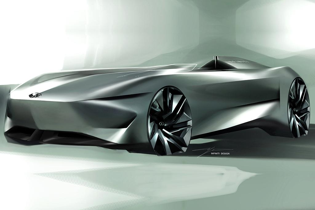 To Infiniti And Beyond New Concept Portends Electrified Future