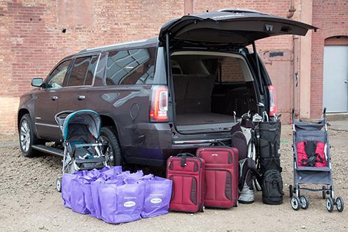 Yukon xl cargo space