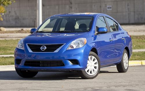 2012 Nissan Versa Sedan Car Seat Check News Cars Com
