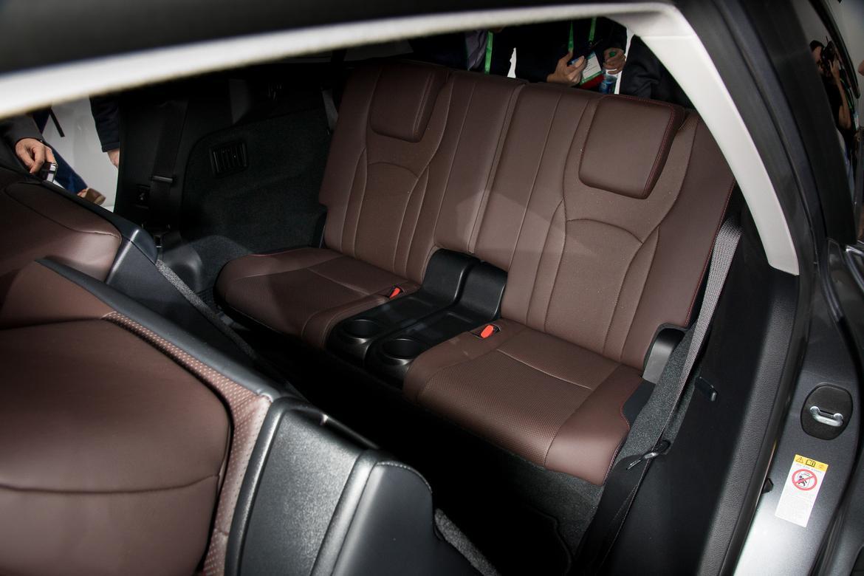 2018 Lexus Rx 350l S Third Row Isn T For Adults News Cars Com