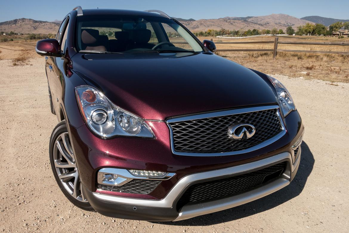 front first motion review test three cars infinity motor infiniti in quarter trend