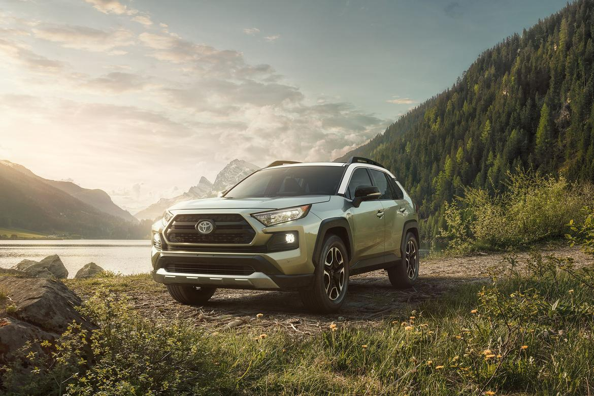 Toyota RAV4: looking more SUV than crossover