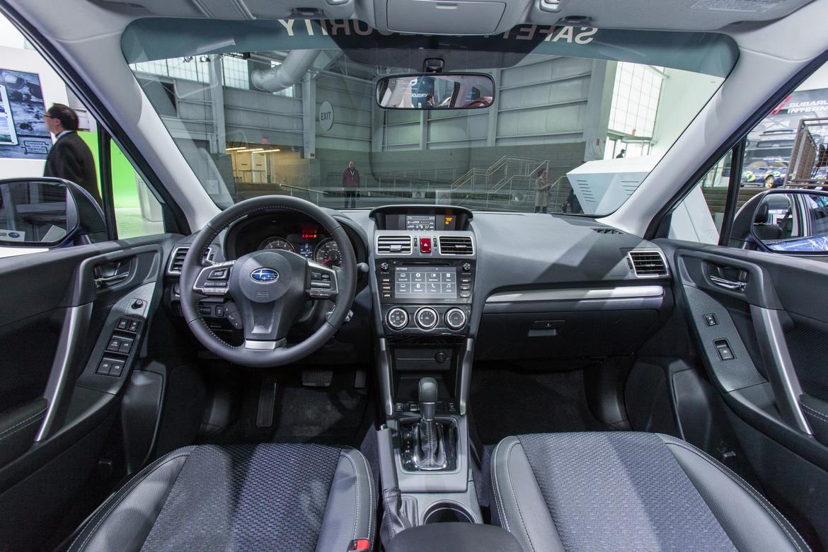2016 subaru forester gets new multimedia system goes on sale in august news. Black Bedroom Furniture Sets. Home Design Ideas