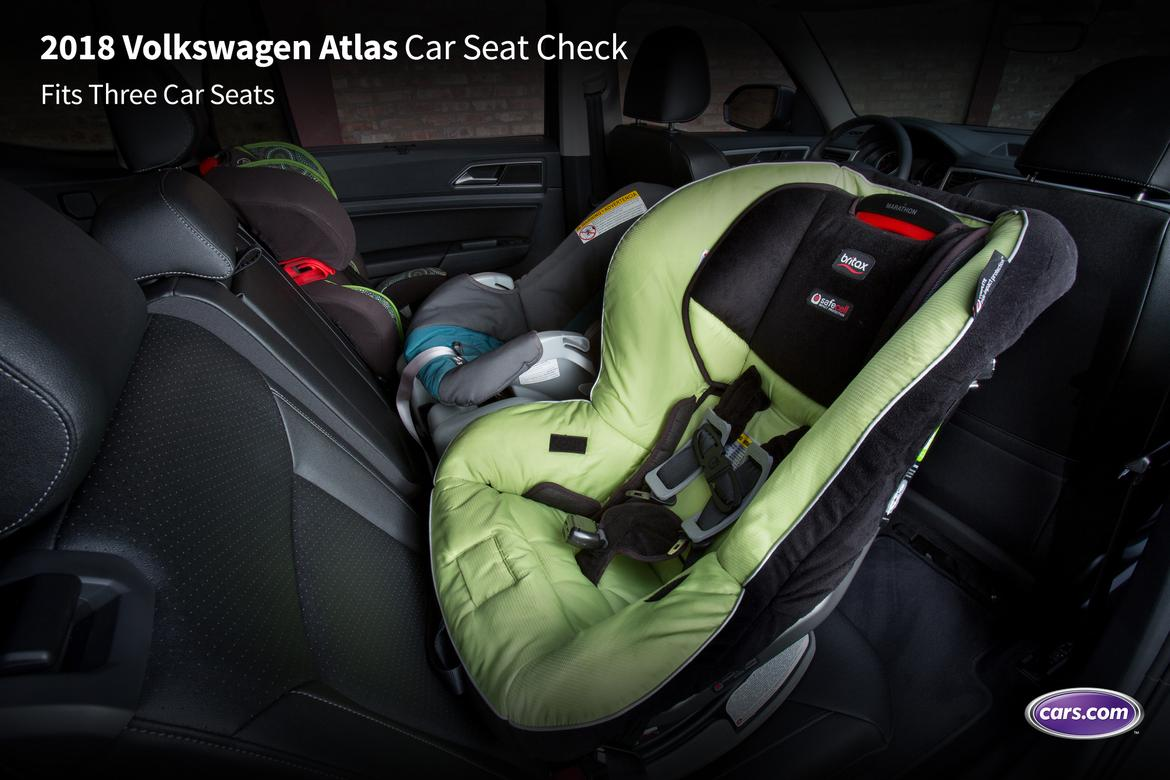 cars with space for three car seats