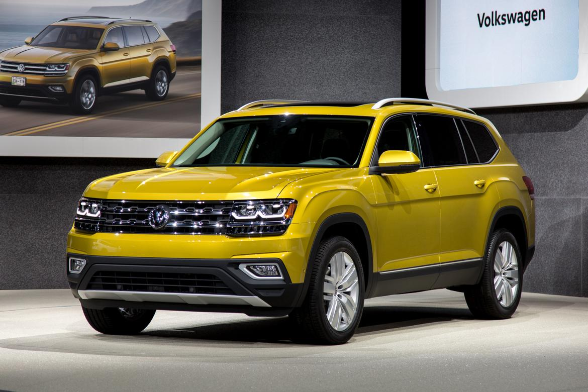 2018 Volkswagen Atlas Review: Photo Gallery | News | Cars.com