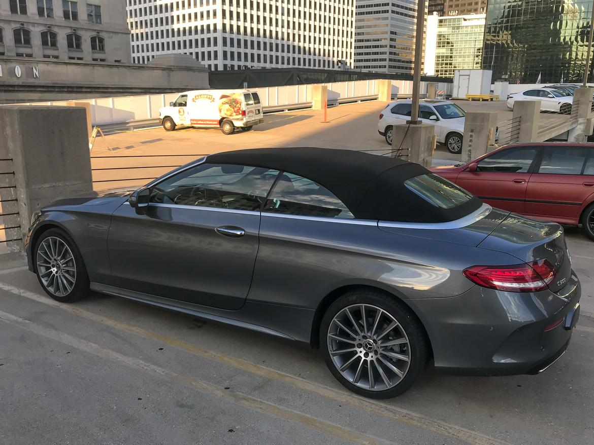 02 Mercedes Benz C 300 Cabriolet 2017 Coupe