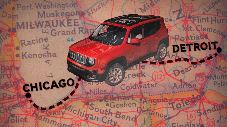 2017 Jeep Renegade Desert Hawk: Real-World Fuel Economy