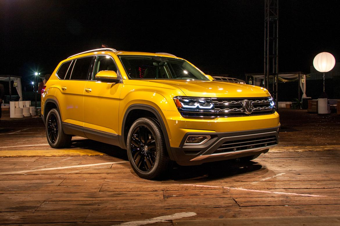 Luxury 2018 Volkswagen Atlas Review First Impressions
