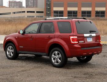 2008 ford escape our review. Black Bedroom Furniture Sets. Home Design Ideas