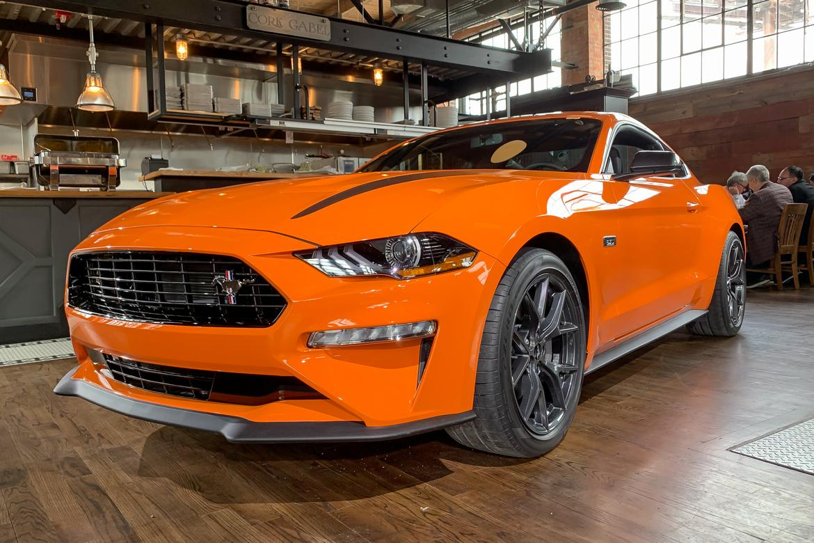 01 ford mustang ecoboost performance pack 2020 angle