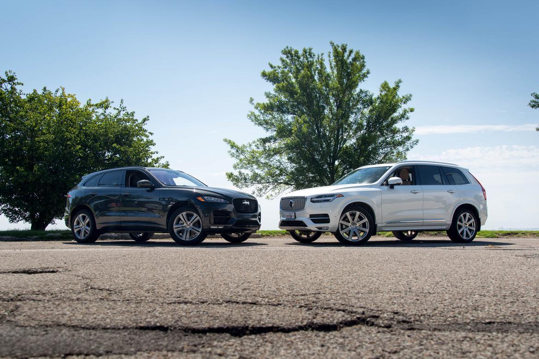 Luxury Suv Face Off Jaguar F Pace Versus Volvo Xc90