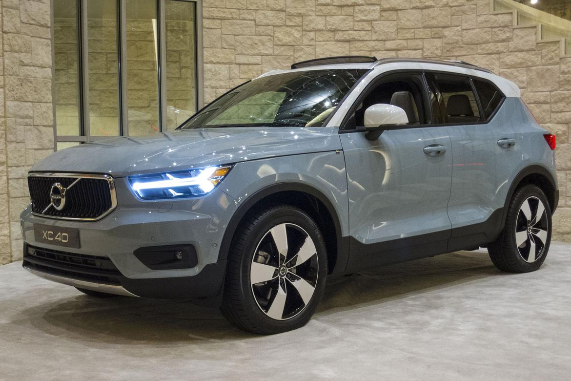 2019 volvo xc40 gas mileage bests less powerful rivals news. Black Bedroom Furniture Sets. Home Design Ideas