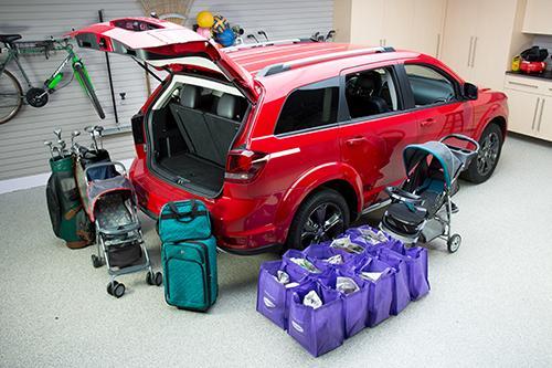 2014 Dodge Journey Crossroad RealWorld Cargo Space  News  Carscom