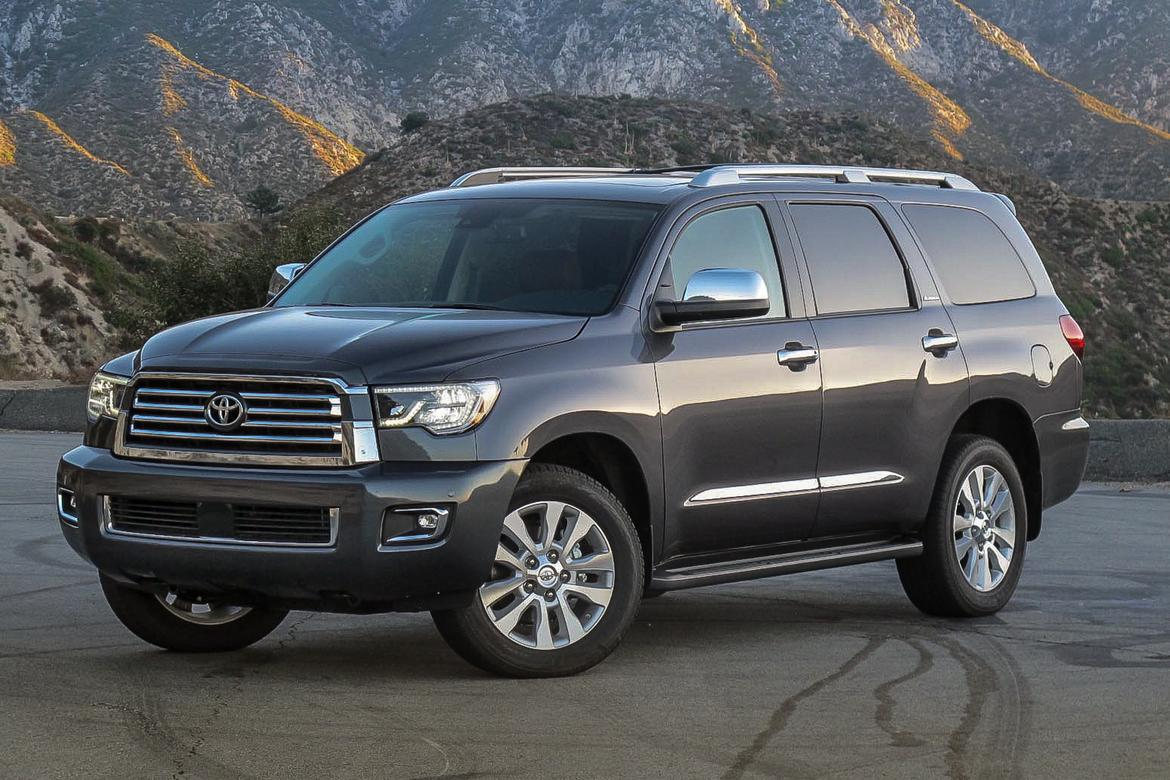 2018 toyota sequoia our review. Black Bedroom Furniture Sets. Home Design Ideas