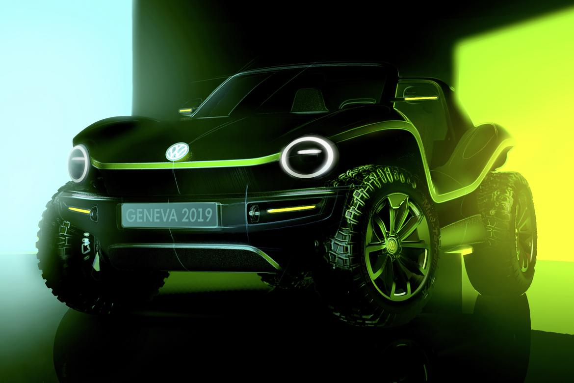 Vw Recharges Beetle Past With Electric Dune Buggy Concept News