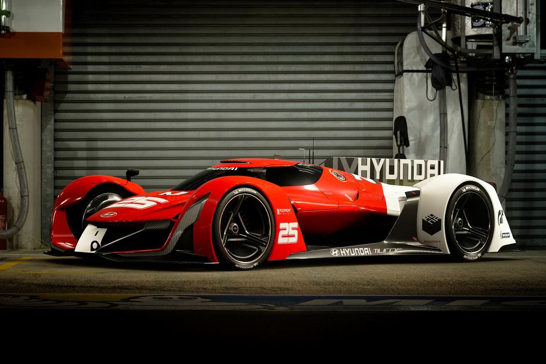 Virtual Vroom: Hyundai Race Cars Crash \'Gran Turismo Sport\' Party ...