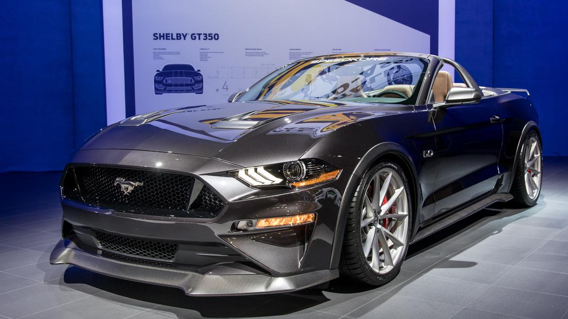 Ford S Corral Full Of Mustangs At Sema News Cars Com