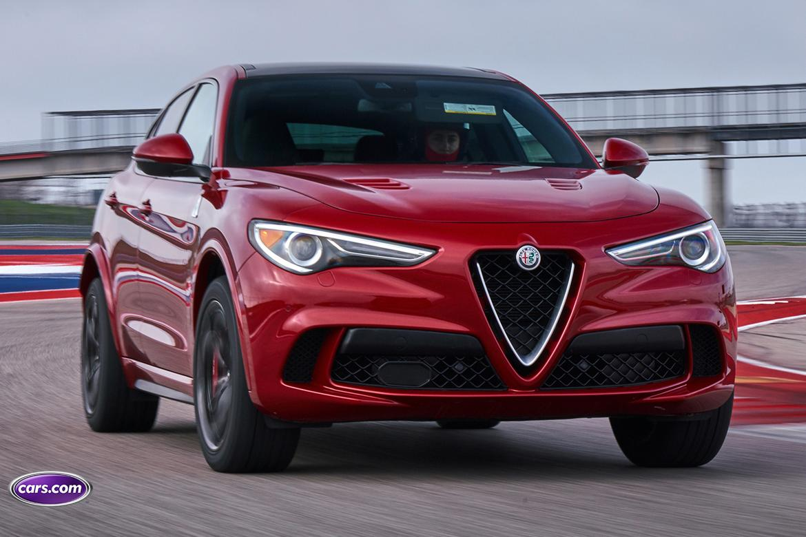 2018 alfa romeo stelvio quadrifoglio video does a track day suv make sense who cares news. Black Bedroom Furniture Sets. Home Design Ideas