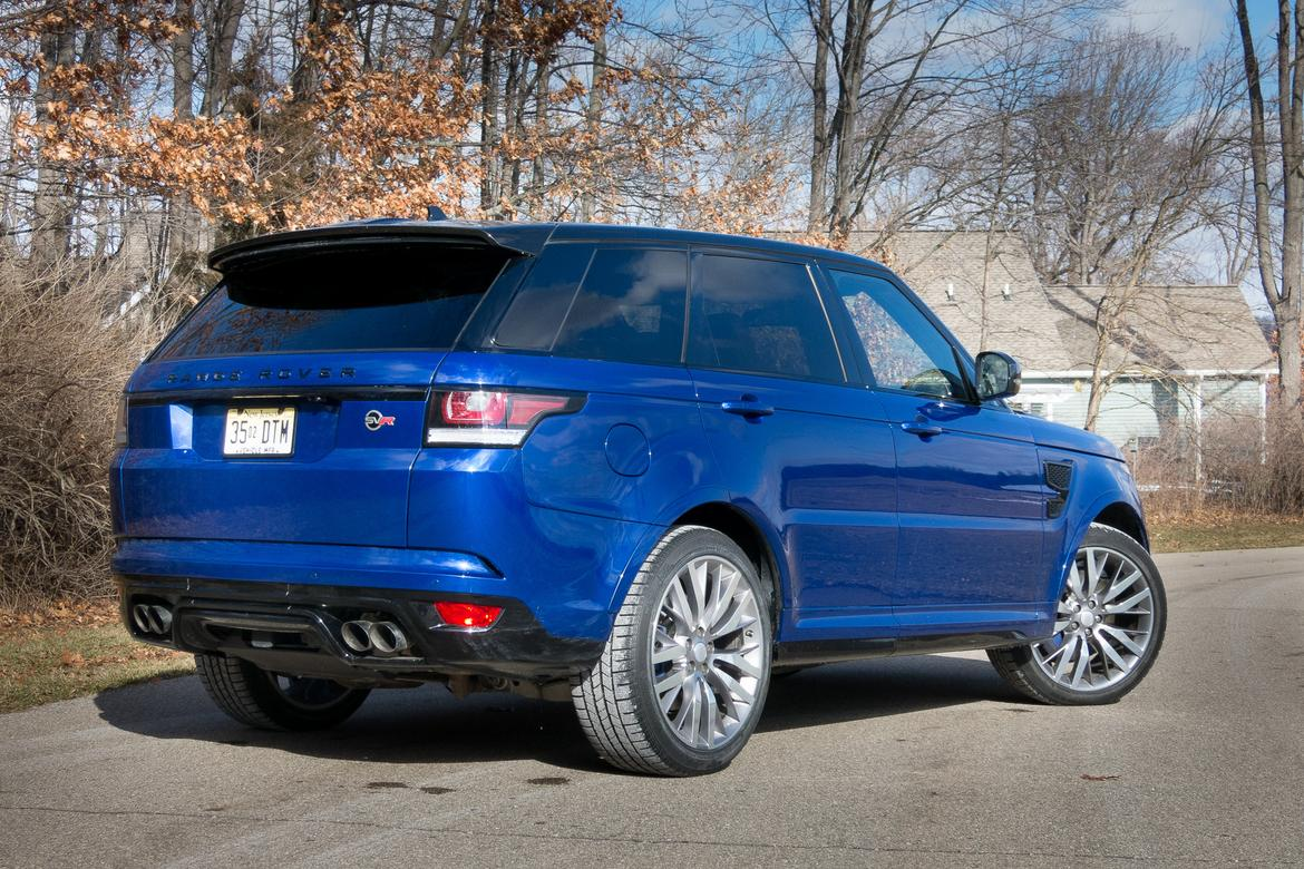 2016 land rover range rover sport our review. Black Bedroom Furniture Sets. Home Design Ideas