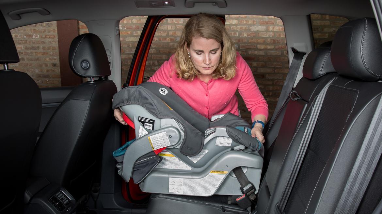 2018 Volkswagen Tiguan: Car Seat Check | News | Cars.com