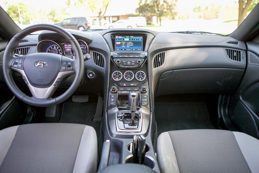 2013 hyundai genesis coupe our review - 2013 hyundai genesis coupe 2 0 t interior ...