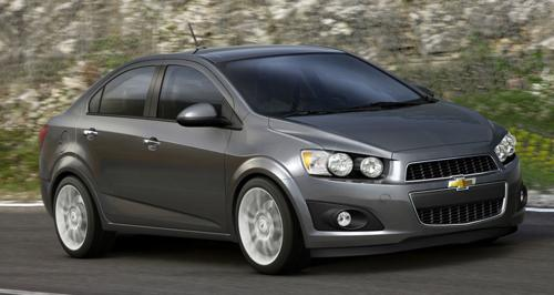 First Official Pictures 2012 Chevrolet Aveo News Cars