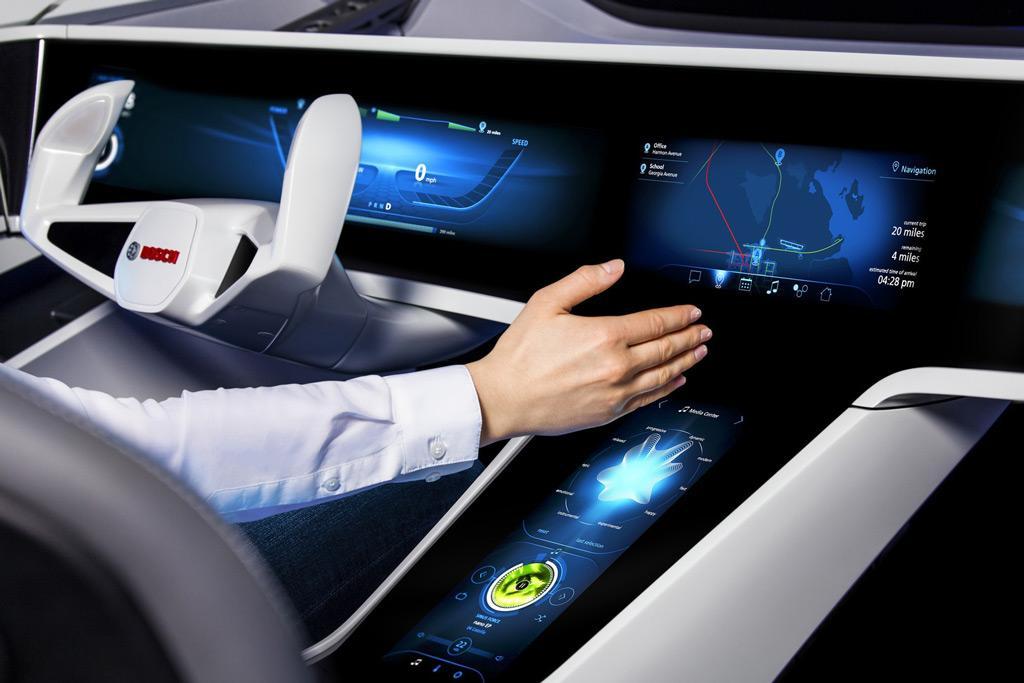 smarter self driving car tech marks ces 2017 news. Black Bedroom Furniture Sets. Home Design Ideas
