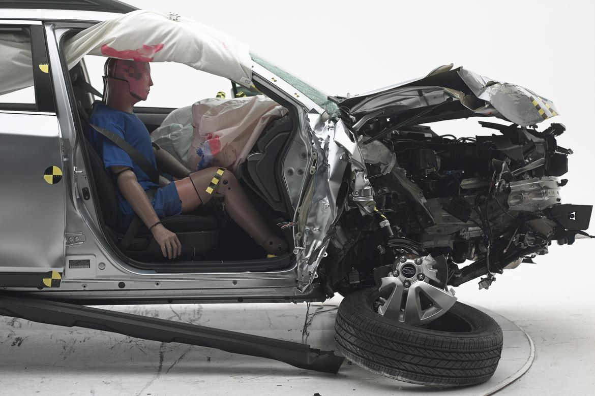 Most Midsize Cars Score Well in New Passenger Side-Safety Crash Test