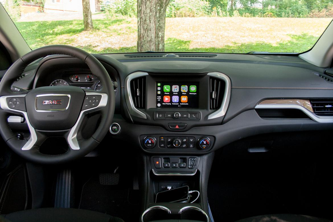 motor and terrain trend rating steering cars reviews wheel suv gmc fwd