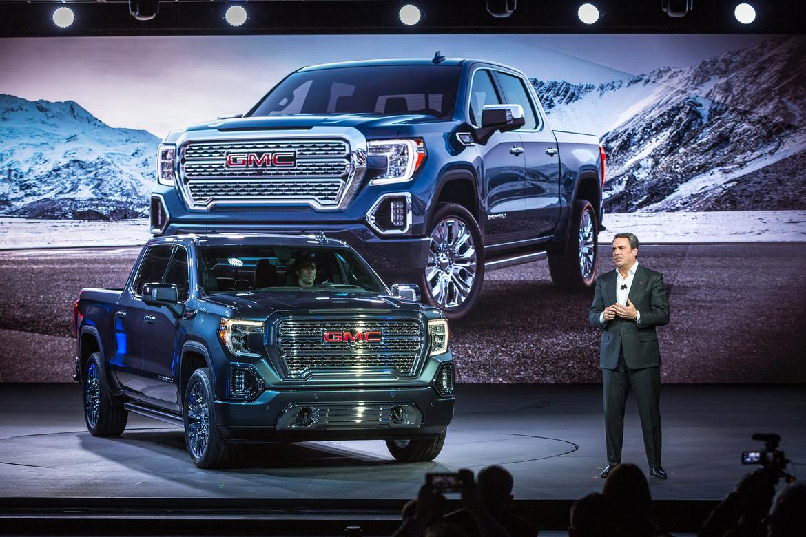 Redesigned 2019 GMC Sierra 1500 Tops What's New on ...