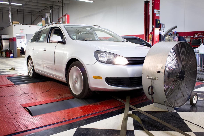 How Powerful is our 2013 Volkswagen Jetta SportWagen TDI Before a