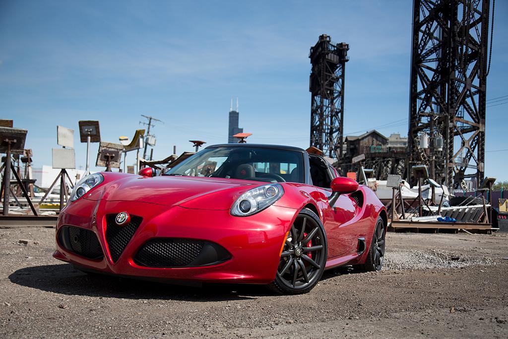 2015 Alfa Romeo 4c Spider Review News Cars