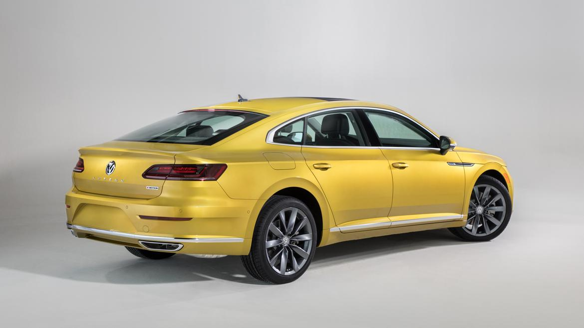 2019 vw arteon 39 s u s version debuts at chicago auto show news. Black Bedroom Furniture Sets. Home Design Ideas