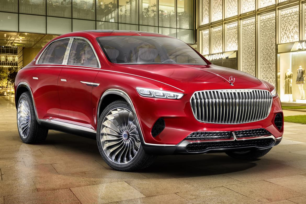 Mercedes-Maybach displays Ultimate Luxury concept