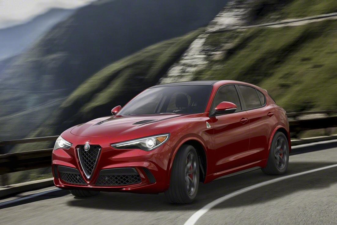 The 510-horsepower Alfa Romeo Stelvio is the Ferrari of SUVs
