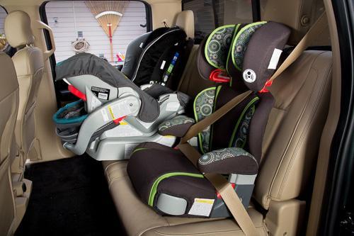 Installing Forward Facing Car Seat  Silverado