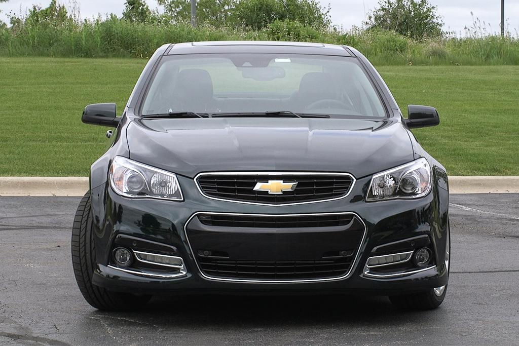 The 2015 chevrolet ss is a track ready family sedan news cars 15chevroletssfrontmag publicscrutiny Gallery