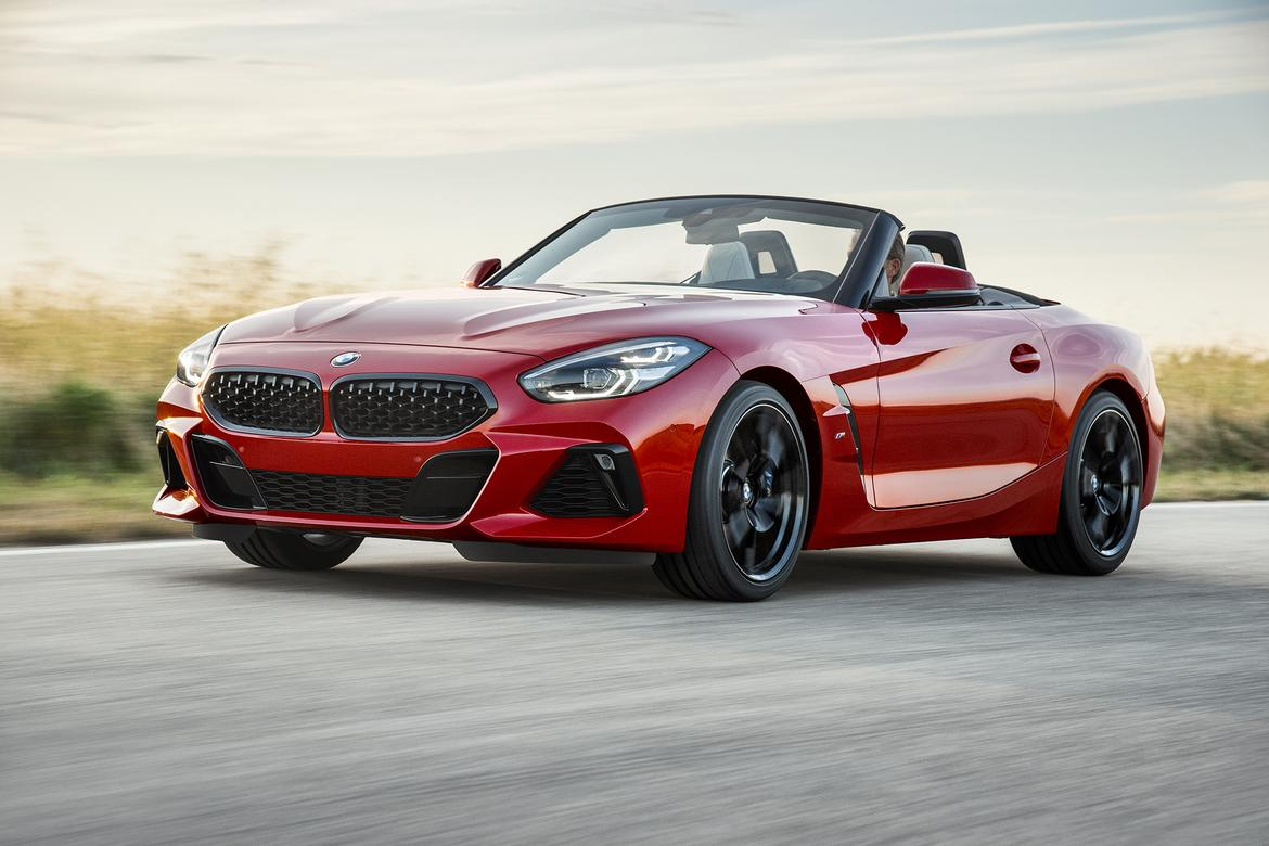 2019 Bmw Z4 Makes Its Official Debut At Pebble Beach News Cars Com