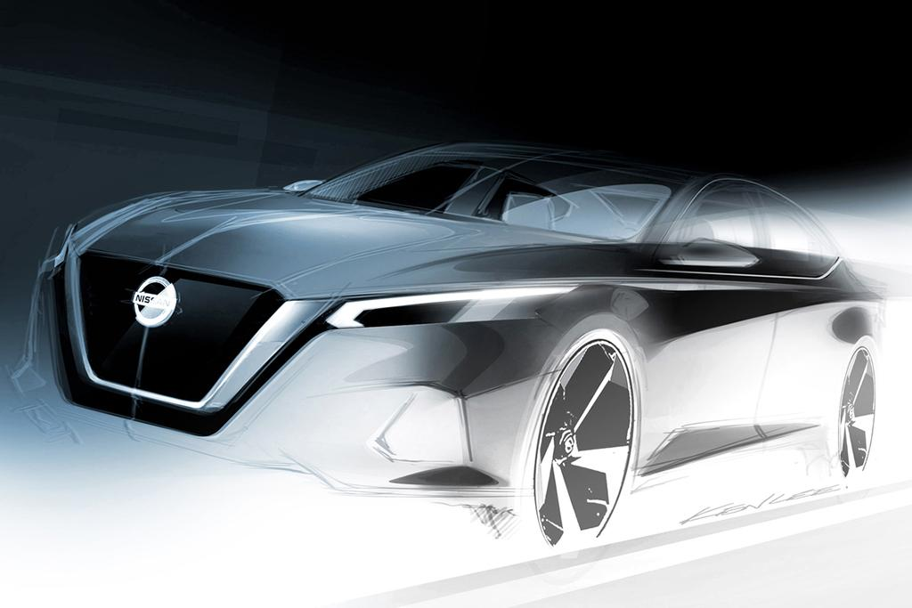 Nissan Promises Head-Turning Altima for 2019   News   Cars.com