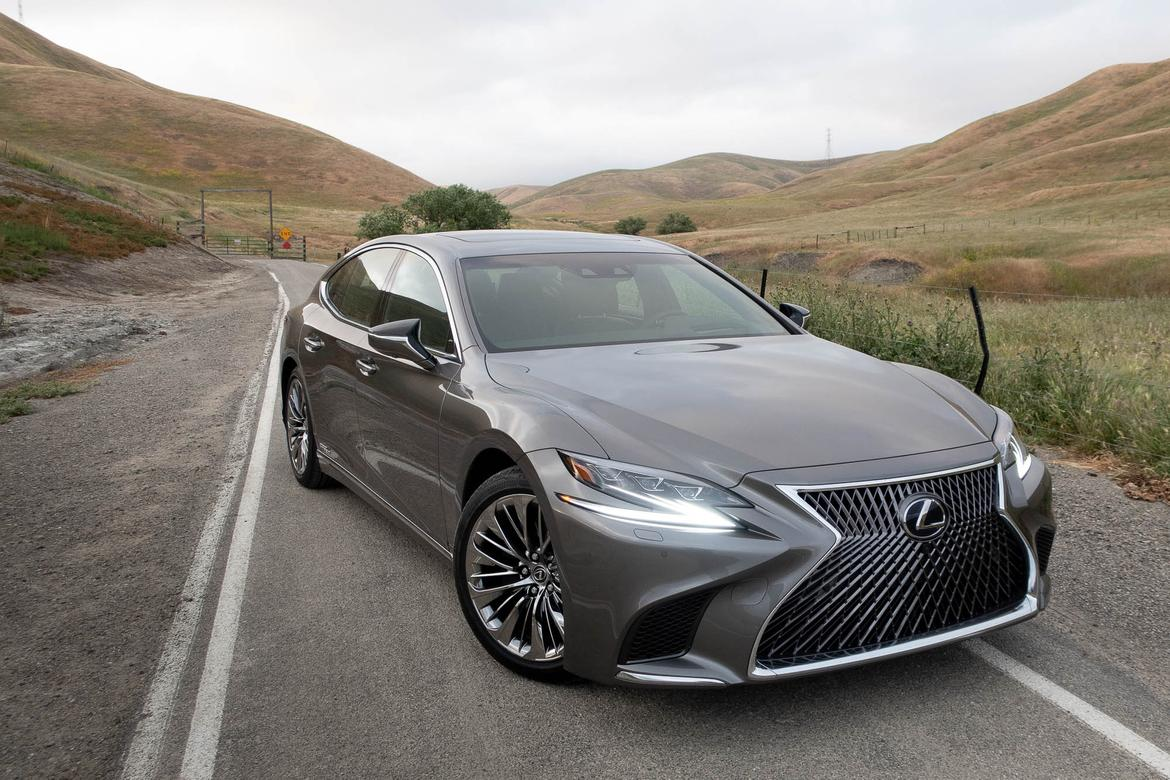 i 39 hypermiled 39 the 2018 lexus ls 500h from l a to napa. Black Bedroom Furniture Sets. Home Design Ideas