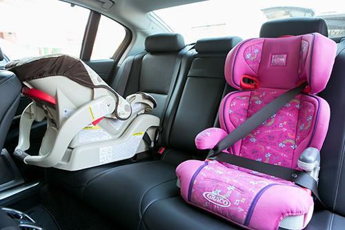 2014 Acura RLX: Car Seat Check | News | Cars.com