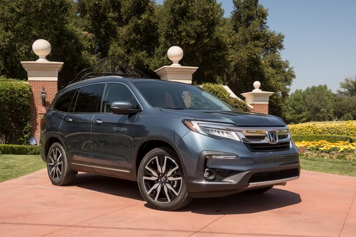 2019 Honda Pilot First Drive Tweaked Not Transformed News Cars Com