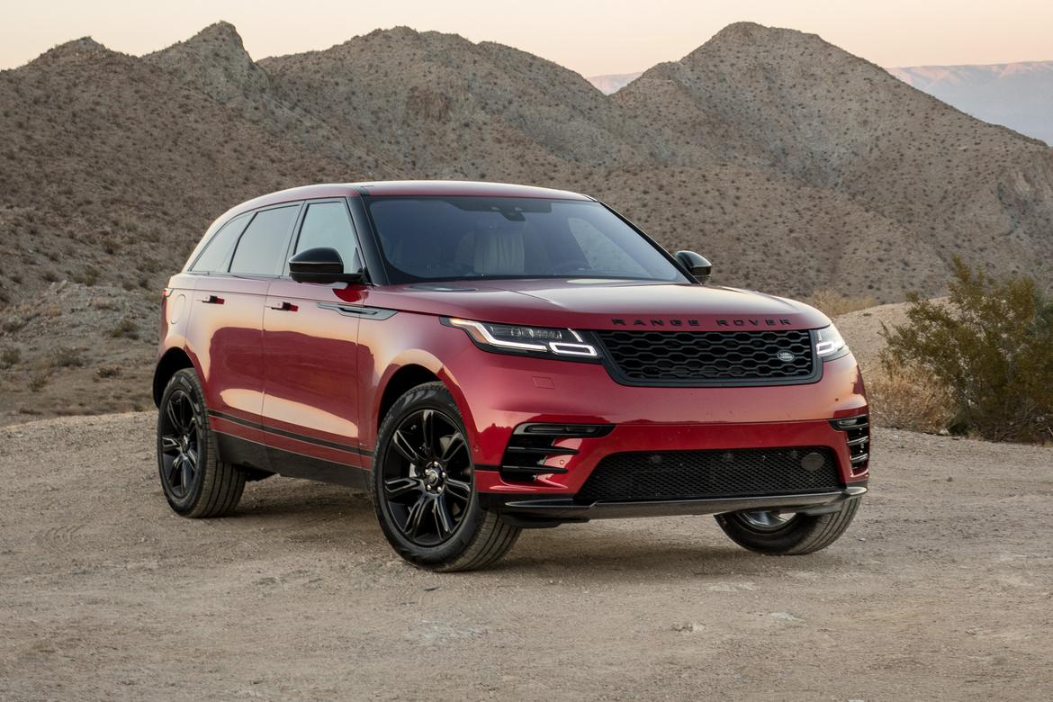 2018 land rover range rover velar review first drive news. Black Bedroom Furniture Sets. Home Design Ideas