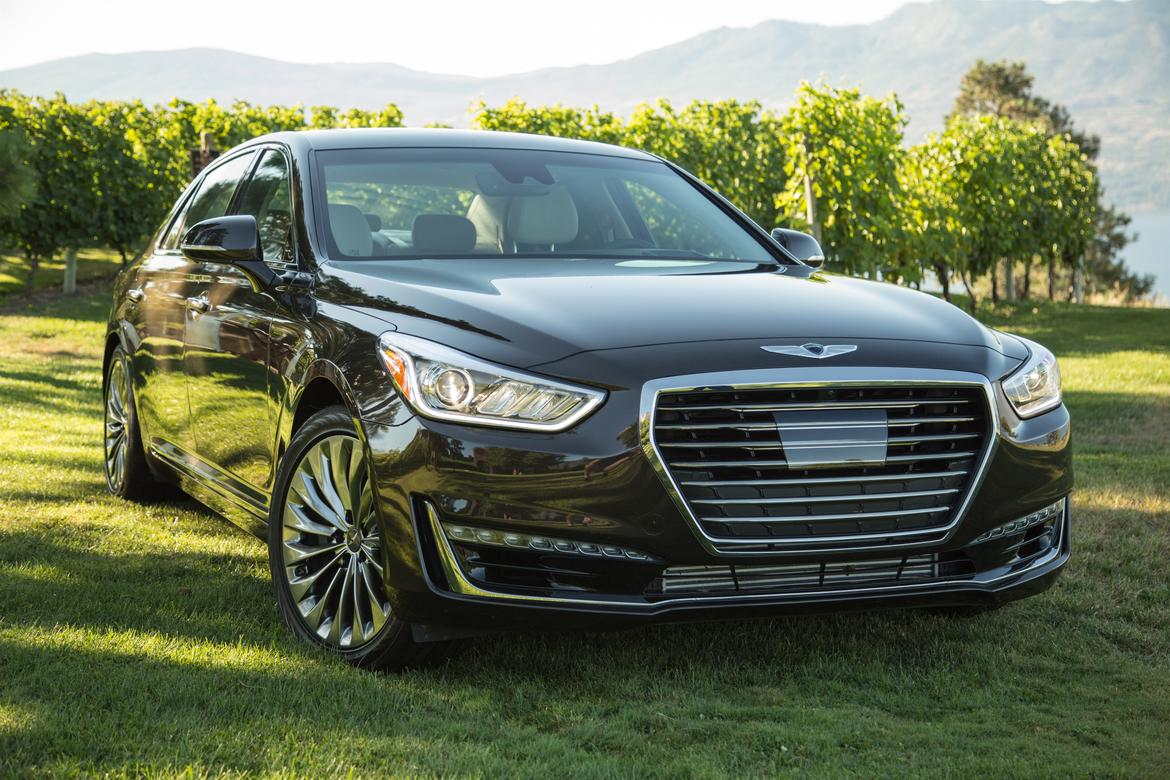 2017 genesis g90 costs less than rivals more than predecessor news. Black Bedroom Furniture Sets. Home Design Ideas