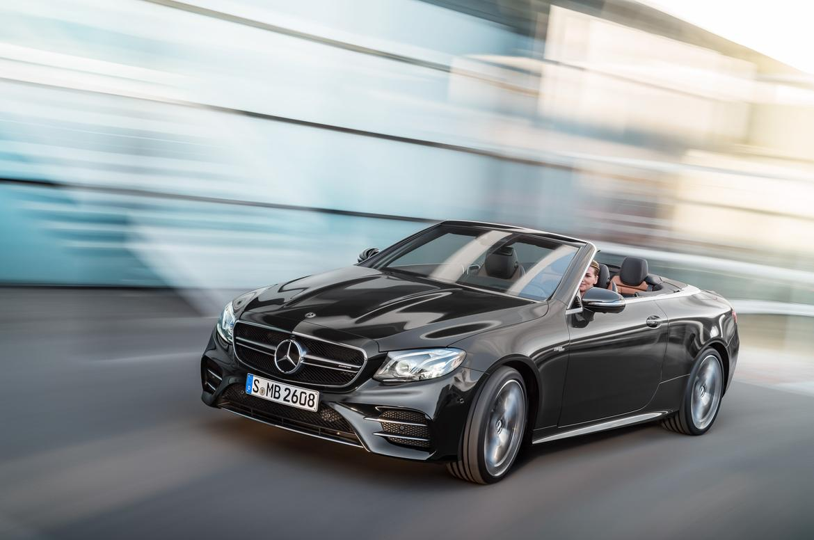 Mercedes amg unveils new 39 53 series 39 mild hybrid versions for New e series mercedes benz